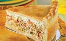 Torta de Empadão de Frango Maravilha – Receita do Sítio