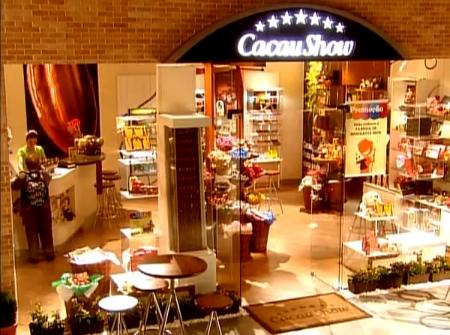 Fábrica de chocolate cacau show carrossel