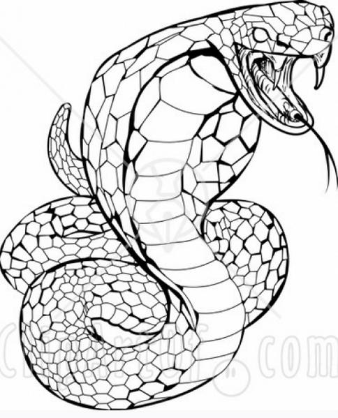 Folclore brasileiro - desenho para imprimir e colorir – saiba o nome de cada personagem folclórico. Cobra Grande