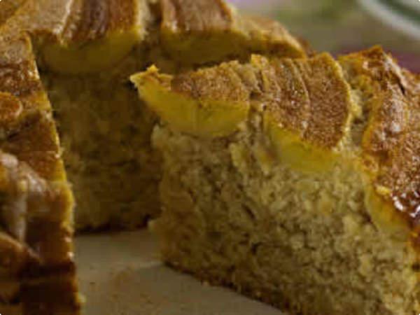 Torta de Banana - Maravilha