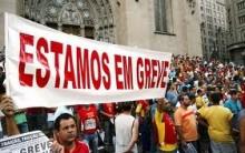 Greve dos Trabalhadores Bancários – Públicos e Privados 2012