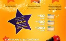 Promoção do Carrefour, Cupom para Sorteio de Carros – Aniversário/2012