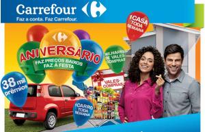 Resultado do aniversario da promoção Carrefour 37 anos 2012.