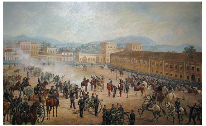 15 De Novembro De 1889 – Proclamação Da República Do Brasil, Promovida Pelo Marechal Deodoro Da Fonseca. Proclamando a República do Brasil