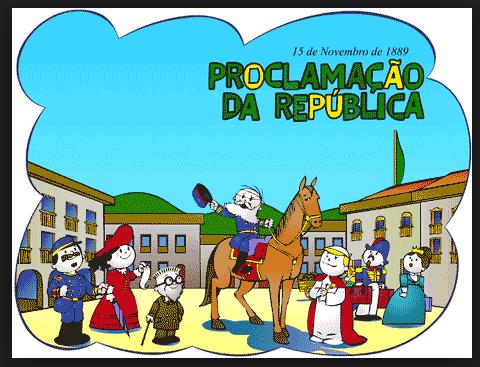 Desenhos Para Colorir, Pintar - Proclamação Da República Do Brasil – 15 De Novembro De 1889. Colorir