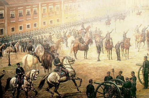 Hino Legendado À Proclamação Da República Do Brasil – 15 De Novembro De 1889. Local da Proclamação.