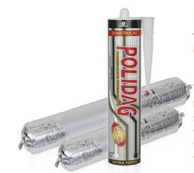 Polidag Construção – Adesivo De Poliuretano – Veda Calhas, Rufos, Coberturas, Toldos, Sistema De Refrigeração E Muito Mais.