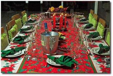 ceia de natal Decoração Da Mesa Para Ceia De Natal   Dicas E Fotos Ilustrativas