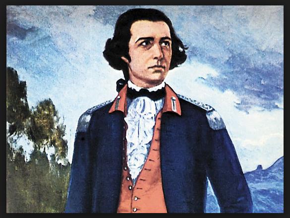 Imagem Para Pintar ou Colorir do Tiradentes - Joaquim José Da Silva Xavier. Morreu Enforcado em 21 de Abril de 1792. Alferes