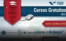 Cursos Gratuitos FGV Online 2013 – Inscrições