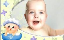 Banho No Bebê. Cuidados Devem Ser Tomados Para Não Haver Erros