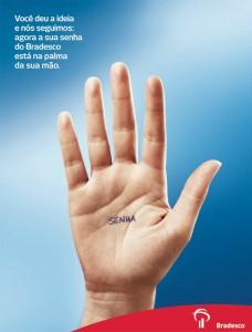 Leitura Biométrica, Segurança Digital. A Sua Senha No Bradesco Cabe Na Palma Da Sua Mão.