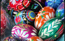 Semana Da Páscoa – Figuras, Imagens Para Colorir, Pintar.