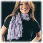 Cachecol Simples de Tricô – Opções Flores de Crochê acessórios para Enfeitar – Dicas, Receitas e Vídeo.