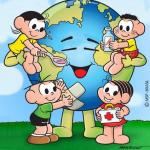 Imagem Para Pintar Ou Colorir Do Planeta Terra – 22 De Abril É O Dia Da Terra.
