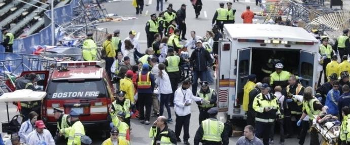 Terror Em Boston - Bombas Explodem Na Maratona Nos Estados Unidos.2