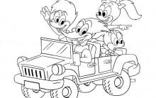 Desenho Animado Pica Pau – Imagens para Imprimir e colorir.