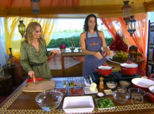 Receita De Quibe De Bandeja E Arroz Com Lentilhas, Preparado Por Solange Badim – Programa Estrelas, Apresentado Por Angélica – Tv Globo Em 11/05/2013.