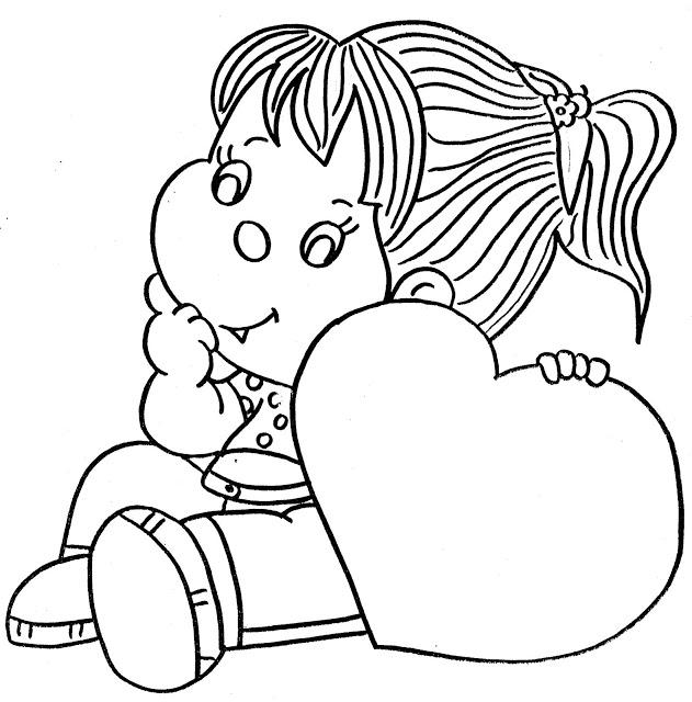 desenho para colorir mãe 5
