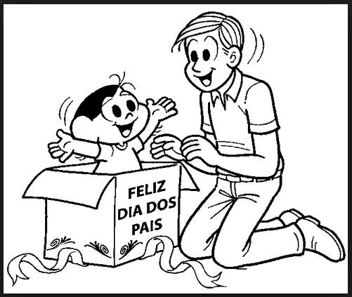 Desenhos para Colorir e Pintar para o Dias dos Pais – Imagens para ...