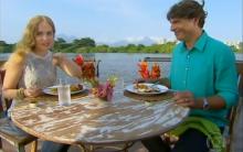 Receita De Arroz Acrescido Com Frutos do Mar, Preparado Pelo Chef Olivier Anquier – Programa Estrelas, Apresentado Por Angélica – Tv Globo Em 01/06/2013.