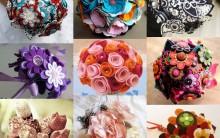 Buquê Para Noiva Feito Em Artesanatos Bijuterias E Brochês – Tendência, Fotos e Como Fazer