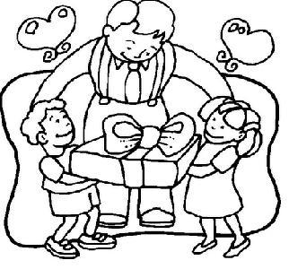 dia dos pais desenhos para colorir