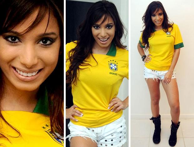 roupa da copa 2014 Vestir se na Moda para a Copa do Mundo em 2014 – Tendências, Modelos e Fotos.