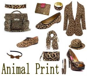 Acessórios animal print