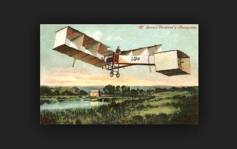 Santos Dumont3 - o inventor do avião 14 bis