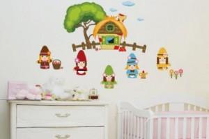Como Decorar Quarto Infantil com Adesivos de Parede – Fotos, Dicas e Onde Comprar