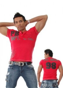 camisa masculina pit bull 217x300 Modelos de Roupas Pit Bull Jeans   Fotos, Dicas, Preços e Onde Comprar