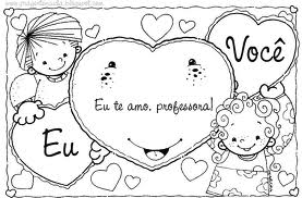 eu te amo professora