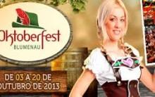 Oktoberfest Blumenau 2013 – Informações, Datas e Ingressos