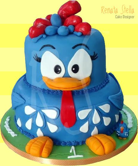 galinha-pintadinha-bolo-dois-andares