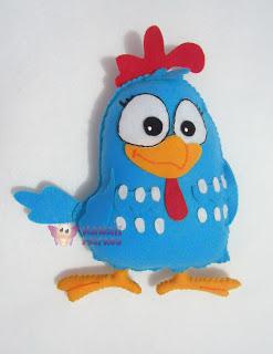 galinha-pintadinha-de-feltro