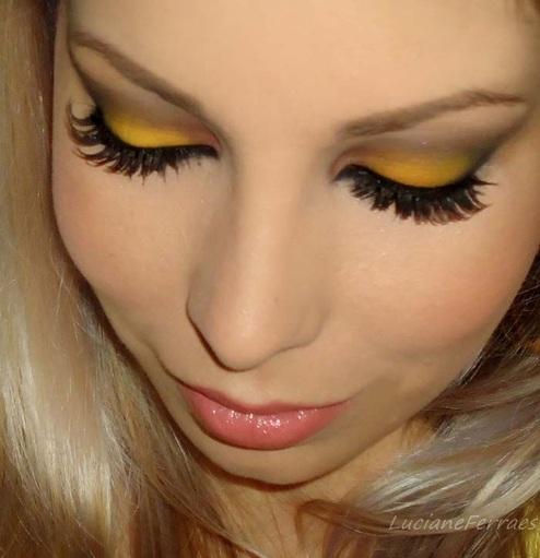 maquiagem-amarela-como-fazer