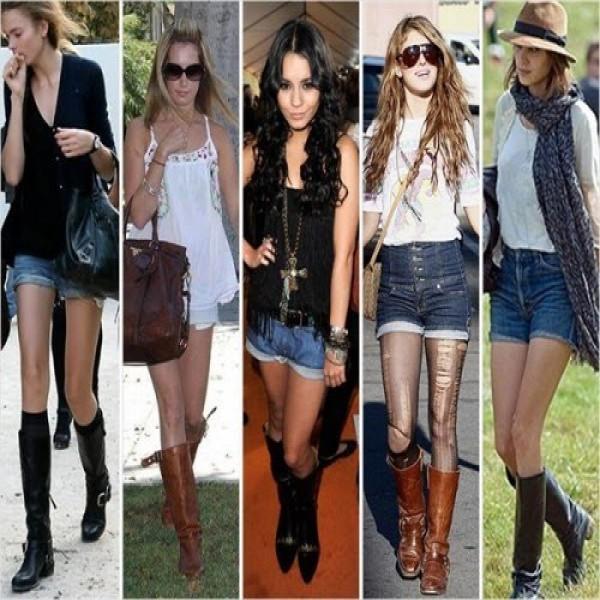 shorts-botas