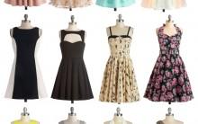Tendência Vestidos Vintage – Fotos e Dicas de Como Usar