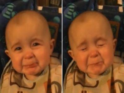 emoção do bebe