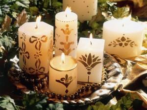 Velas Decorativas Natalinas – Como Fazer