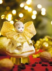 Como Fazer Anjos Natalinos de Cartolina – Passo a Passo