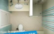 Como Decorar Banheiros Pequenos – Fotos e Dicas