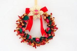 Como Fazer Guirlanda com Balas e Bombons – Delícia Para o Natal – Dicas e Passo a Passo
