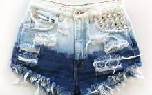 Como Deixar Shorts Jeans Desfiados e Rasgados – Transformação, Passo a Passo e Vídeo