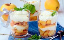 Sobremesas Light de Maçã Para o Verão – Receitas