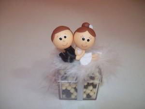 Como Fazer Potes Decorados com Biscuit Para Lembrança de Casamento – Passo a Passo
