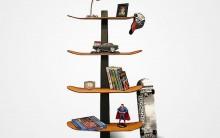 Estantes de Livros Criativas Para Decoração – Fotos e Dicas