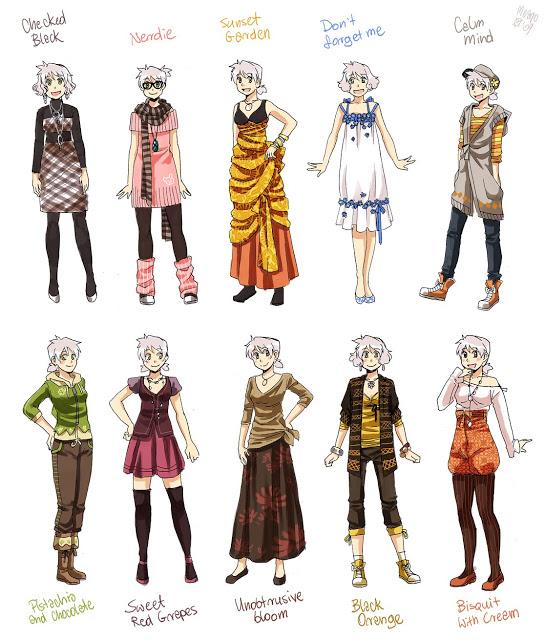 Roupas De Mangu00e1 - Criau00e7u00e3o De Personagens - Como Desenhar Vu00eddeo