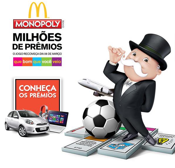 monopoly mcdonalds Monopoly Promoção McDonalds 2014   Como Funciona e Como Participar